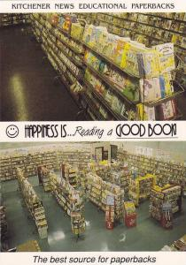 Kitchener News Book Store , Kitchener , Ontario , Canada , 40-60s
