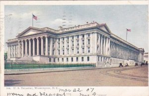 U S Treasury Washington D C 1907