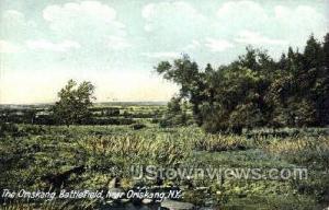 Oriskany Battlefield Oriskany NY Unused