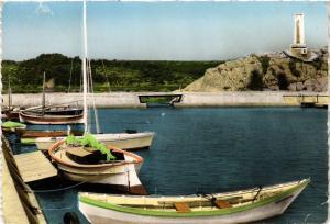 CPM NARBONNE-PLAGE - Le Port et le Monument Pierre Brossolette (216466)