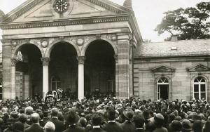 Germany - Munich, Nazi Funeral - RPPC