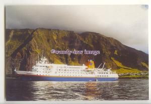 LN1717 - Hapag-Lloyd Liner - Bremen - postcard by Rev Father Edwards