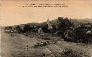 CPA Martinique. Le Bourg de Schoelcher ou Case Navire. MADAGASCAR (626073)