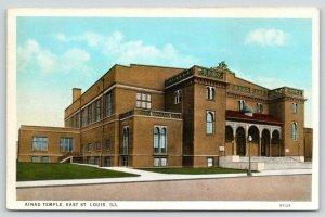 East St Louis Illinois~Ainad Shriners Temple~1920s Postcard