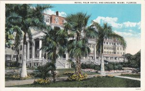 MIAMI, Florida, 1910s ; Royal Palm Hotel and Grounds