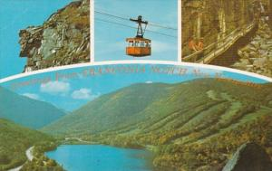 New Hampshire Greetings From Franconia Notch Old Man Of The Mountains & More