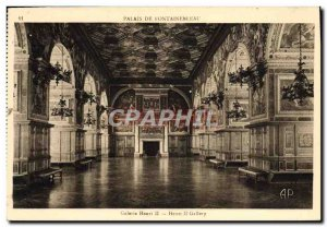 Old Postcard Fontainebleau Gallery Henry II