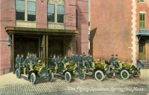 MA - Springfield Fire Department. Flying Squadron Chemical & Hose Co. No. 7