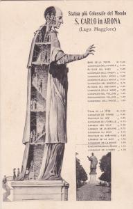 Arona, Italy, 00-10s ; Statua piu Colossale del Mondo