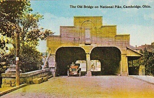 The Old Bridge On National Pike Cambridge Ohio