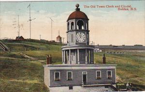 The Old Town Clock And Citadel, HALIFAX, Nova Scotia, Canada, PU-1912