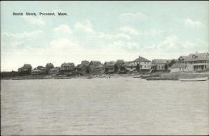 Pocasset Cape Cod MA South Shore Homes c1910 Postcard #4