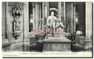 Old Postcard Dreux Chapelle St Louis Tomb Of Louis Phillippe