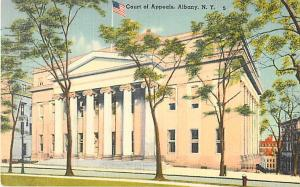 Court of Appeals, Albany, NY New York 1951 Linen