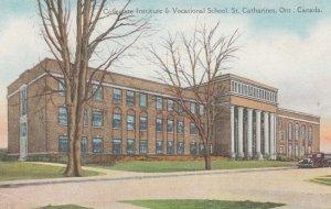 ST. CATHARINES , Ontario , Canada , 1900-10s ; Collegiate Institute & Vocatio...