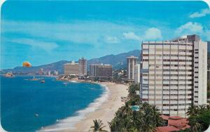 Panoramic view of part of the Bay of Acapulco Mexico