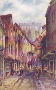 AS, The Shambles, York, England, UK, 1900-1910s
