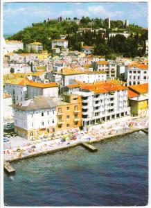 Slovenia, PIRAN - PIRANO, used Postcard