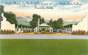 ID, Pocatello, Idaho, Idaho Motel, Colourpicture No. K1094
