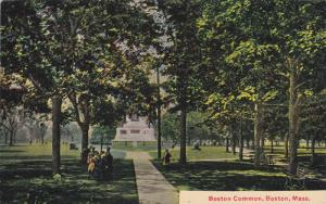 BOSTON, Massachusetts, 1900-1910´s; Boston Common