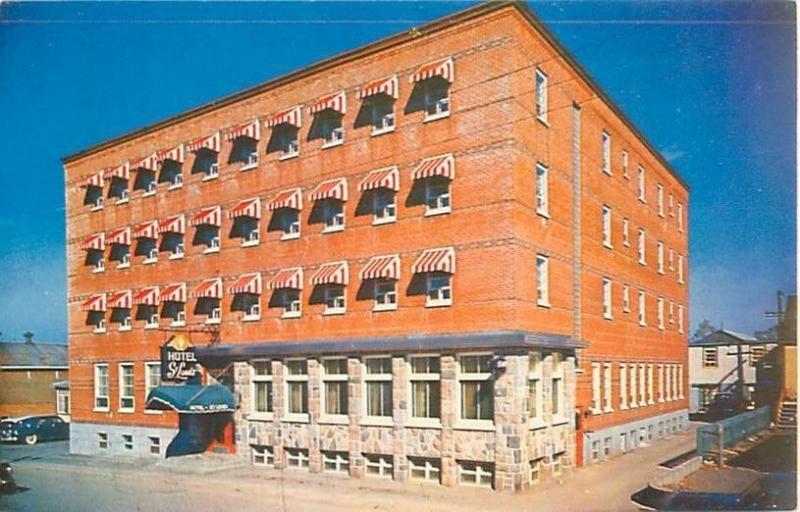 Rimouski, Quebec, Canada Hotel St Louis, L Roland Martin, Prop  Vintage Postcard