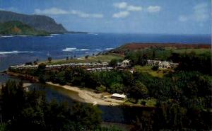 Hanalei Plantation, Hanalei Kauai HI Writing On Back