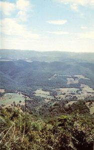 WV - Bald Knob Overlook View