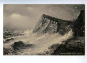 144734 UK Shakespeare Cliff DOVER Kent Vintage TUCK postcard