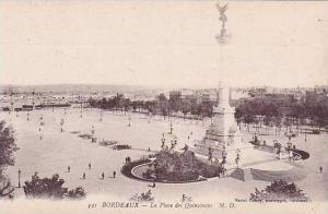 France Bordeaux La Place des Quinconces