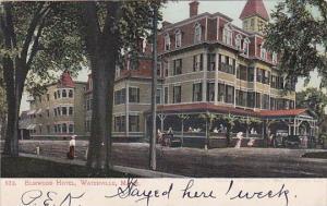 Maine Waterville Elmwood Hotel 1907