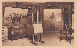 Atelier De Th Rousseau - Rousseau's Studio, Barbizon (Seine et Marne), France...