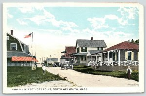 North Weymouth Massachusetts~Parnell Street Homes on Fort Point~Hotels~1915
