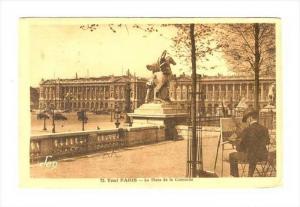 La Place De La Concorde, Tout Paris, France, PU-1930