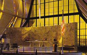 Holy Table Protestant Chapel U S Air Force Academy Colorado