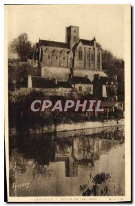 Postcard Old Lamballe Notre Dame Church