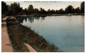 New Jersey  Ramsey  Lake on Freeman Estate