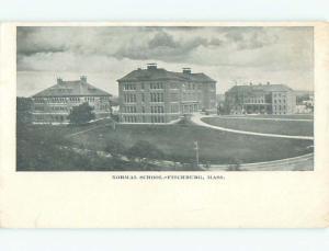 Unused Pre-1907 NORMAL SCHOOL Fitchburg Massachusetts MA Q1223