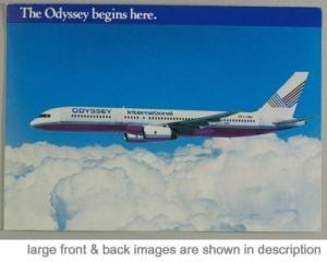 Odyssey International airline Boeing 757 circa 1989