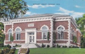 Birchard Library, FREMONT, Ohio, 1930-1940s