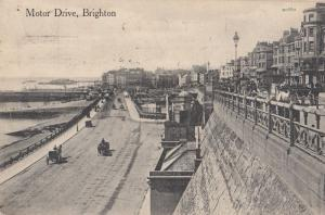 Motor Drive Brighton Antique Postcard