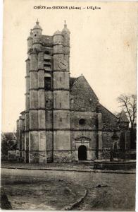 CPA  Chezy- en . orxois.- l'Eglise  (158946)