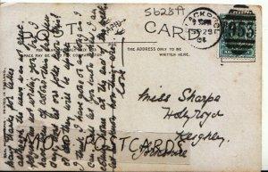 Genealogy Postcard - Sharpe - Hollyroyd - Keighley - Yorkshire - Ref 5628A