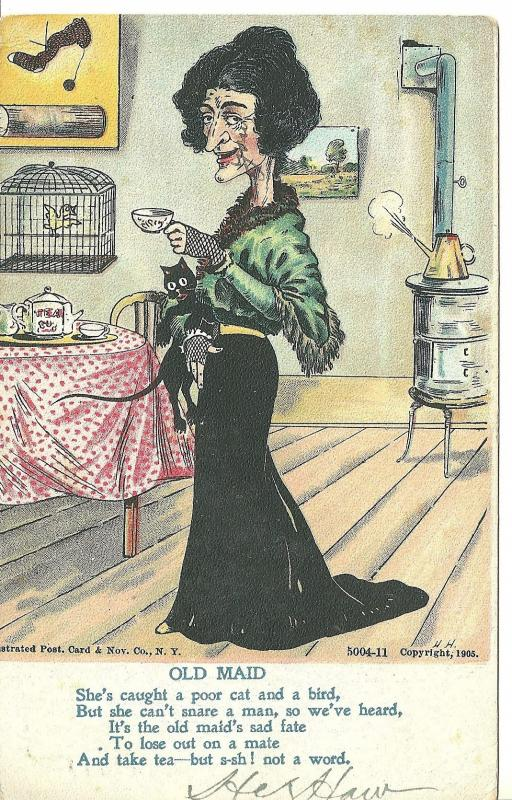 1906 Old Maid