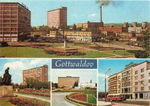 Europe Czech Republic Gottwaldow industrial city multiview