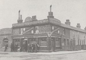 New Fairlop Inn Barkingside 1906 London Postcard