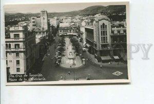 438069 Spain Tenerife Santa Cruz Plaza de la Candelaria Vintage photo postcard