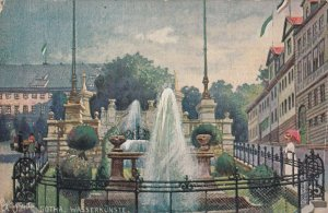 GOTHA, Germany, 1900-1910s; The Wasserkunste, TUCK No. 7486
