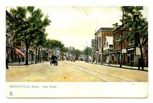 MA - Greenfield. Main Street