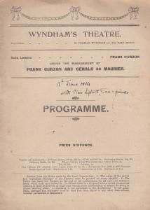 The Clever Ones Comedy Bethnal Green Road Hampstead Antique WW1 Old Theatre P...