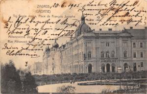 B29042 Zagreb Croatia trg Franje Josipa Place de Fracois Josephe  croatia
